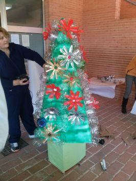 Decorando la Navidad